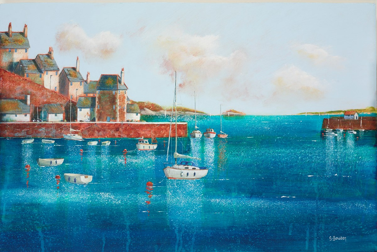 Mast House by steve bowden -  sized 24x16 inches. Available from Whitewall Galleries